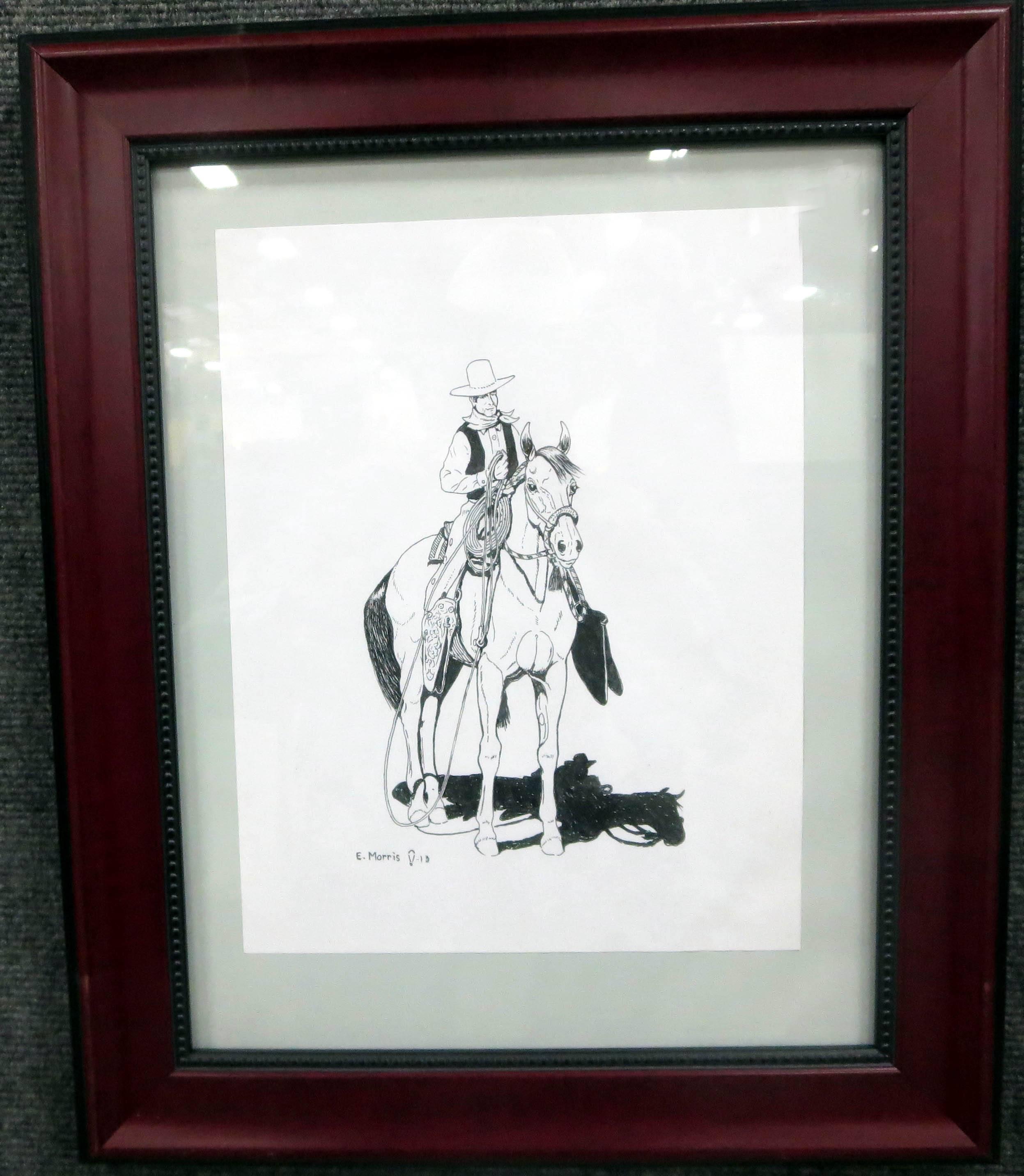 19. Vaquero on Hackamore Colt