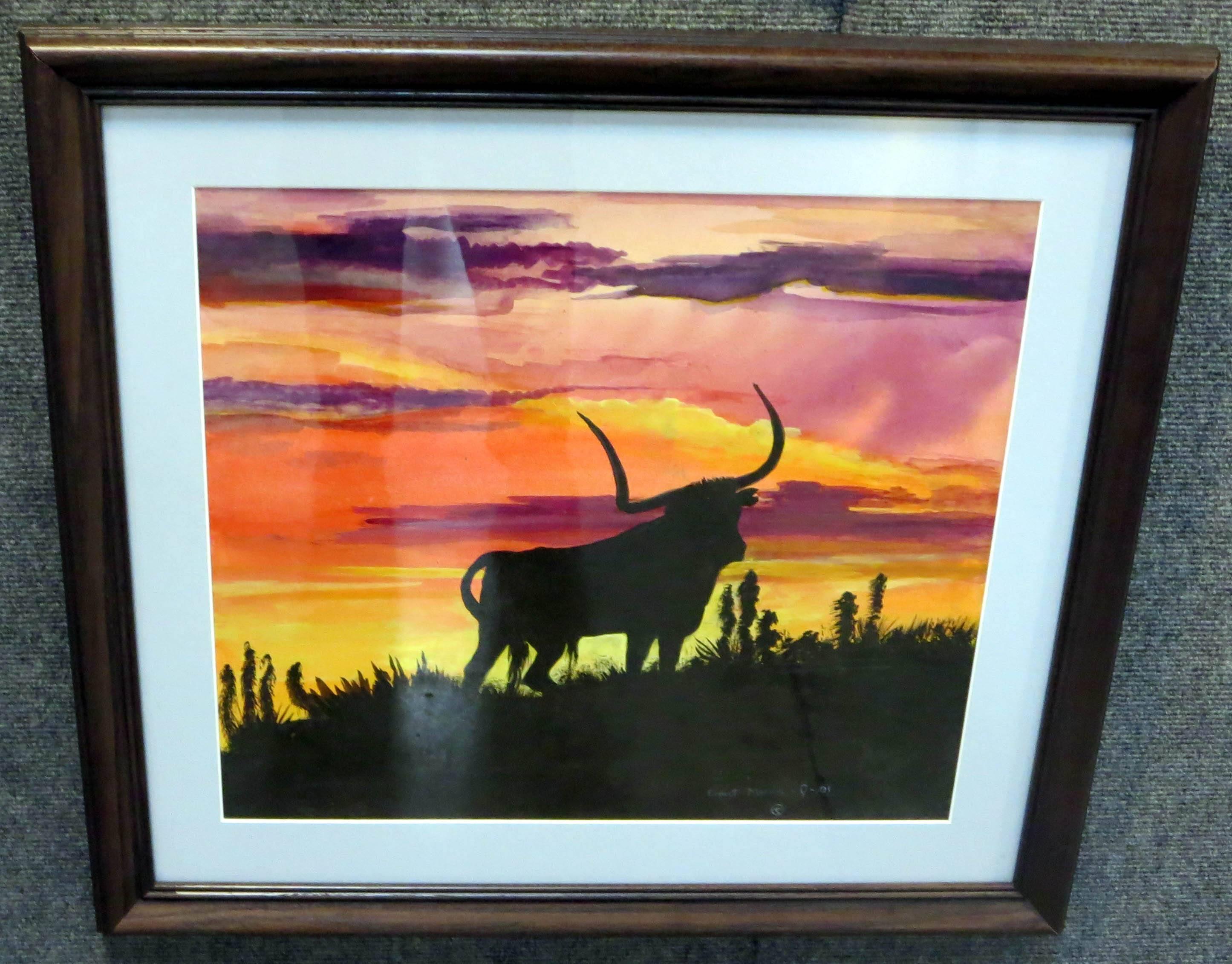 28. Lone Longhorn Steer