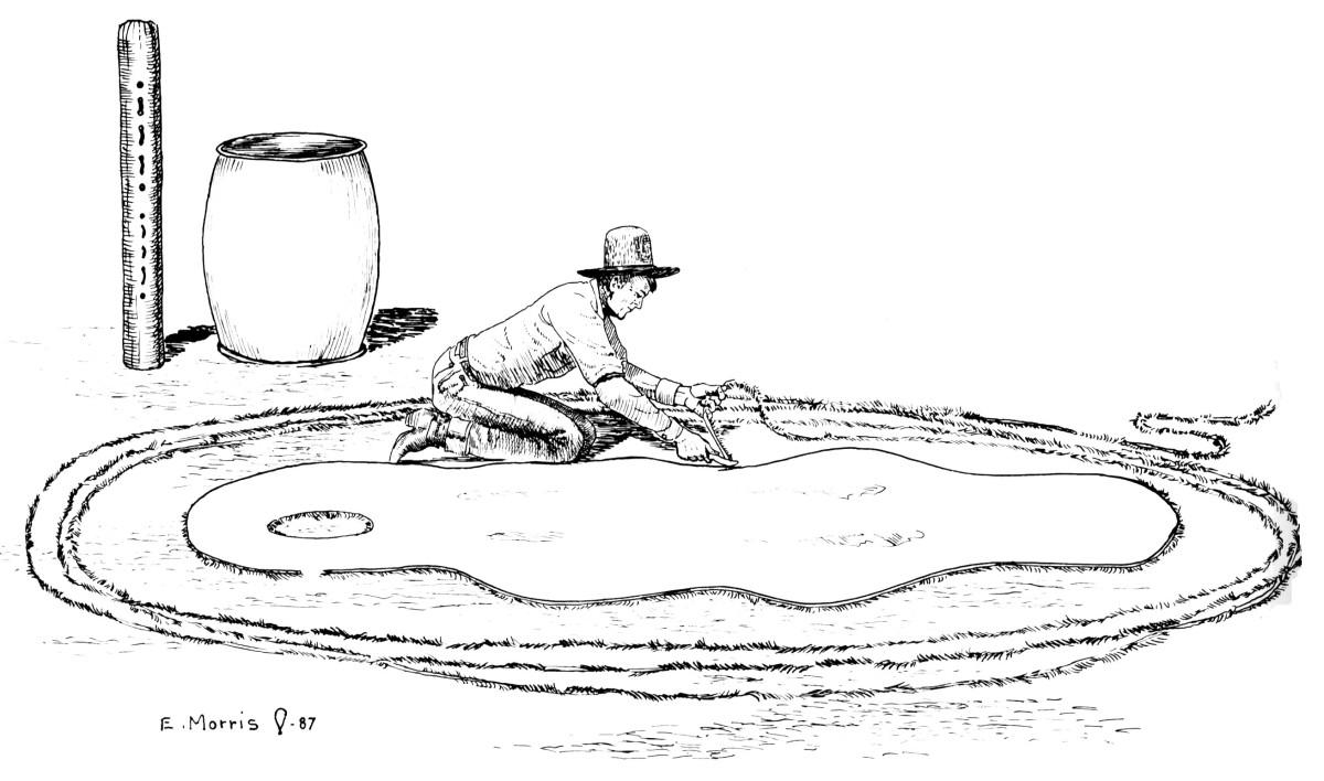 Preserving The Vaquero Tradition Rawhide Braiding