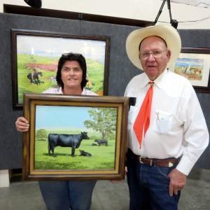 Ernie Morris and Debbie Paver