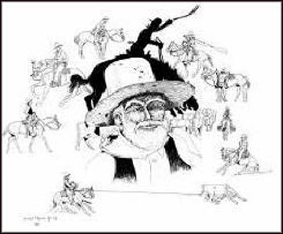 Vaquero Poster - The Recollection